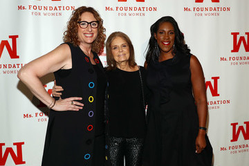 Gloria Steinem Teresa Younger Ms. Foundation 30th Annual Gloria Awards And After Party - Inside