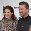 Debra Messing and Will Chase Photos
