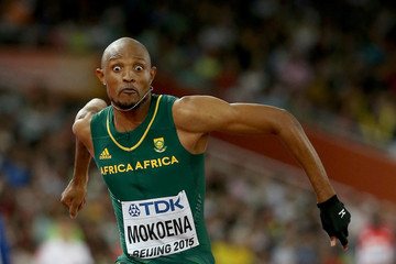 Godfrey Khotso Mokoena 15th IAAF World Athletics Championships Beijing 2015 - Day Six