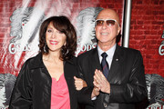 """Andrea Martin and Paul Shaffer attend the opening night of Broadway's """"Godspell"""" at the Circle in the Square Theatre on November 7, 2011 in New York City."""
