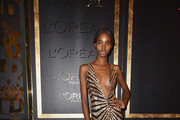 Tami Williams attends the Gold Obsession Party - L'Oreal Paris : Photocall as part of the Paris Fashion Week Womenswear  Spring/Summer 2017  on October 2, 2016 in Paris, France.