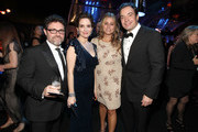 (L-R) Producer Jeff Richmond, actress Tina Fey, producer Nancy Juvonen and TV personality Jimmy Fallon arrive at NBCUniversal/Focus Features Golden Globes Viewing and After Party sponsored by Chrysler held at The Beverly Hilton hotel on January 16, 2011 in Beverly Hills, California.