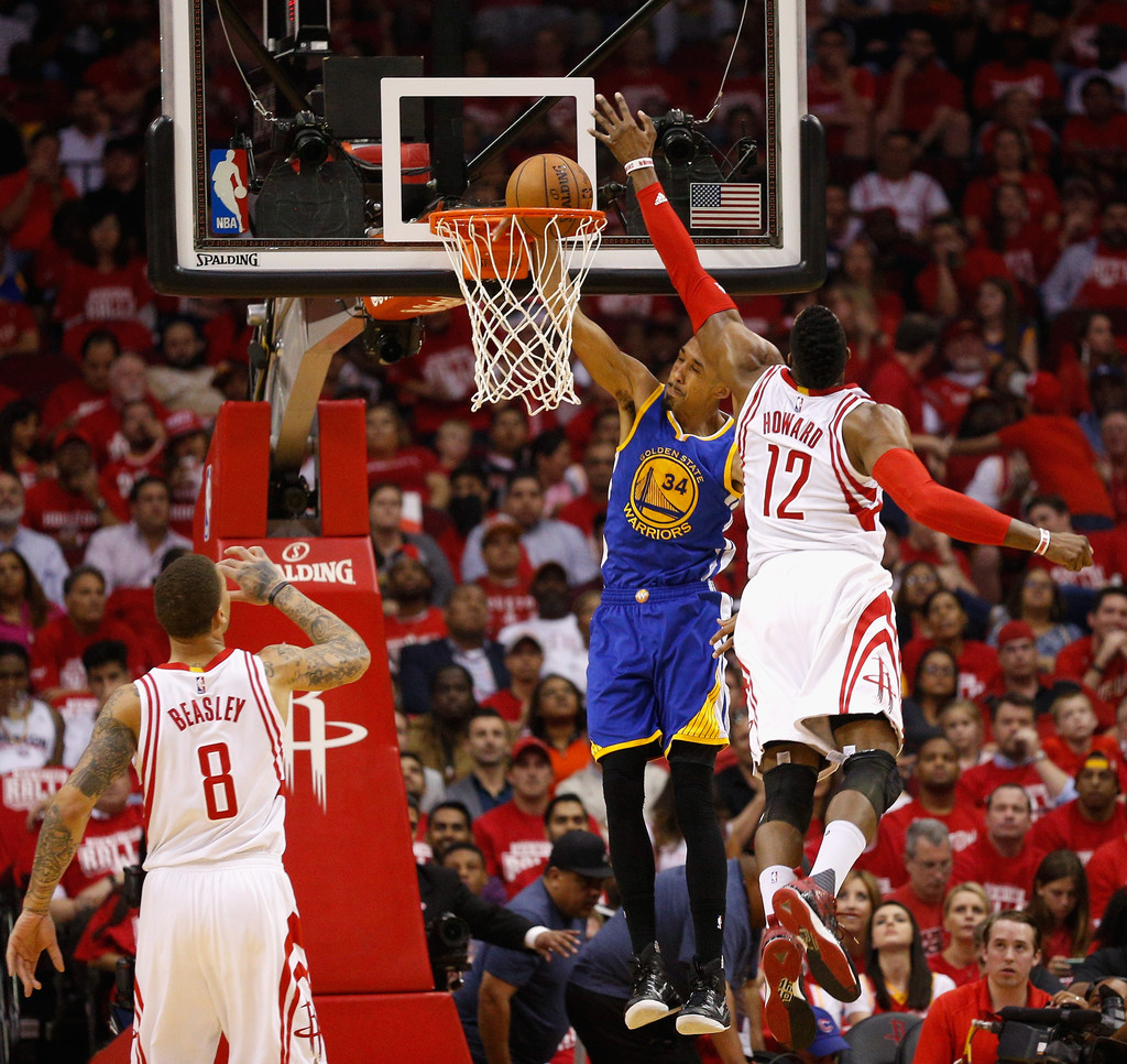 Houston Rockets X Golden State Warriors: Dwight Howard Photos Photos