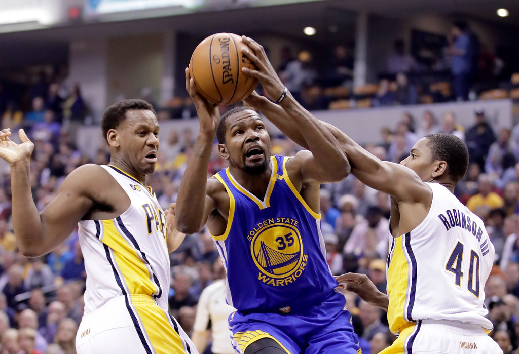the best attitude ff157 4c2f8 Kevin Durant Photos Photos - Golden State Warriors v Indiana ...