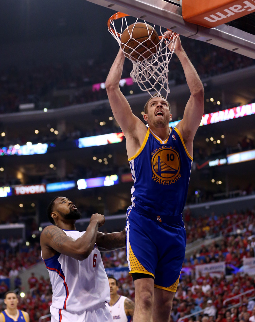 DeAndre Jordan in Golden State Warriors v Los Angeles ...