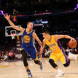 Stephen Curry and Jeremy Lin Photos