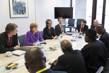 Goodluck Jonathan EU-Africa Summit Commences in Belgium