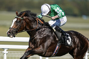 Ryan Moore riding Pablo Escobarr win The Heineken 0.0%/EBF Future Stayers' Maiden Stakes at Goodwood Racecourse on September 26, 2018 in Chichester, United Kingdom.