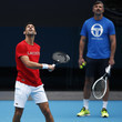 Goran Ivanisevic Player Practice Sessions In The Lead Up To 2021 Australian Open