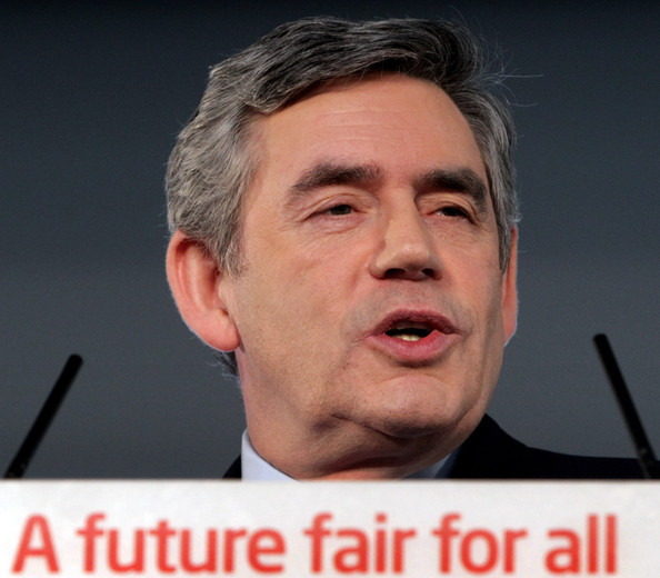 Gordon Brown Sets Out His Agenda Ahead Of The Forthcoming General Election