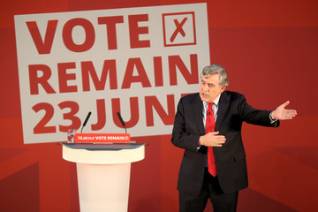 Gordon Brown Gordon Brown Joins Forces With John McDonnell For Positive Case To Remain