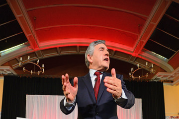 Gordon Brown Final Day of Campaigning for the Scottish Referendum