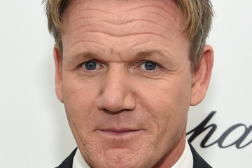Gordon Ramsay Arrivals at the Elton John AIDS Foundation Oscars Viewing Party — Part 3