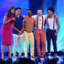 Davina McCall Photos - Davina McCall announces 'Boy Band' as finalist's during the first live show of 2014's 'Got To Dance' at Earls Court on August 25, 2014 in London, England. - 'Got to Dance' Live Show