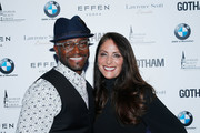 Actor Taye Diggs and Gotham Magazine publisher Lynn Scotti Kassar attend the Gotham Men's Issue Celebration at the BMW of Manhattan Showroom on November 16, 2017 in New York City.