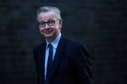 Environment Secretary Michael Gove arrives for a Cabinet meeting at 10 Downing Street on October 9, 2018 in London, England. Parliament returns today after taking a break for party conference season.