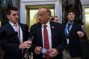 U.S. Rep. Steve King (R-IA) walks through the Capitol Building on October 15, 2013 in Washington, DC. The government has been shut down for 14 days.