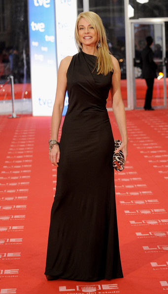 Spanish actress Belen Rueda arrives to the 2011 edition of the 'Goya Cinema Awards' ceremony at Teatro Real on February 13, 2011 in Madrid, Spain.