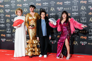 Marisa Paredes, Rossy de Palma and Loles León attend the Goya Cinema Awards 2019 during the 33rd edition of the Goya Cinema Awards at Palacio de Congresos y Exposiciones FIBES on February 02, 2019 in Seville, Spain.