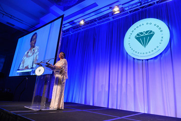 Graca Machel Diamonds Do Good Awards Gala