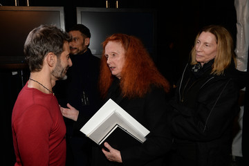 Grace Coddington Backstage at the Marc Jacobs Show