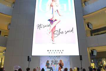 Grace Helbig Beverly Center x Gigi Gorgeous Book Signing For 'He Said, She Said'
