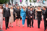 "Carole Bouquet, Nicolas Winding Refn,  Leila Hatami, Sofia Coppola, Jane Campion, Gael Garcia Bernal, Zhangke Jia, Do-yeon Jeon and Willem Dafoe attend the Opening ceremony and the ""Grace of Monaco"" Premiere during the 67th Annual Cannes Film Festival on May 14, 2014 in Cannes, France."