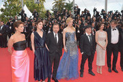 """Guests, Tim Roth, Nicole Kidman, Olivier Dahan, Paz Vega and Pierre-Ange Le Pogam attend the Opening ceremony and the """"Grace of Monaco"""" Premiere during the 67th Annual Cannes Film Festival on May 14, 2014 in Cannes, France."""
