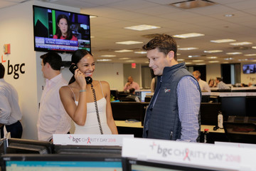 Gracie Carvalho Annual Charity Day Hosted By Cantor Fitzgerald, BGC and GFI - BGC Office - Inside