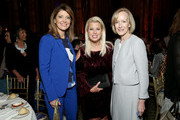 (L-R) Norah O'Donnell, Rita Cosby and Judy Woodruff attend The Gracies, presented by the Alliance for Women in Media Foundation at Cipriani 42nd Street on June 27, 2018 in New York City.
