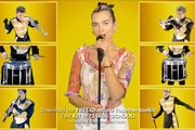 In this screengrab, Dua Lipa performs during Graduate Together: America Honors the High School Class of 2020 on May 16, 2020 in UNSPECIFIED, United States.