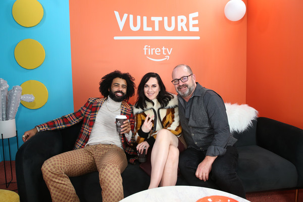 The Vulture Spot Presented By Amazon Fire TV 2020 - Day 2 [the vulture spot,yellow,event,fun,leisure,party,graeme manson,daveed digs,lena hall,vulture spot,utah,park city,amazon fire tv,lena hall,graeme manson,alfred peet,image,photograph,television,san francisco,firetv,livingly media]