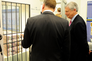 Graeme Wheeler John Key Attends Launch of New Bank Notes