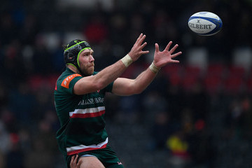 Graham Kitchener Leicester Tigers v Racing 92 -  Champions Cup