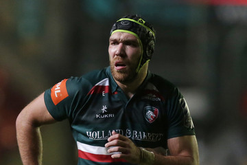 Graham Kitchener Leicester Tigers v Munster Rugby -  Champions Cup