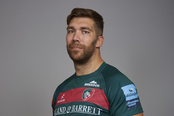 Graham Kitchener Leicester Tigers Squad Photo Call