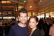 Amy Paffrath (right) and Drew Seeley attend the grand opening of FARMHOUSE Los Angeles on March 15, 2018 in Los Angeles, California.