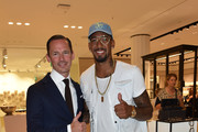 Alexander Repp and Jerome Boateng during the grand opening of the new Oberpollinger ground floor 'Muenchens Neue Prachtmeile' at Oberpollinger on September 12, 2018 in Munich, Germany.