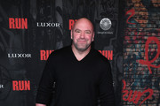 """UFC President Dana White attends the grand opening night for """"R.U.N - The First Live Action Thriller"""" presented By Cirque du Soleil at Luxor Hotel and Casino on November 14, 2019 in Las Vegas, Nevada."""
