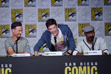 Grant Gustin Comic-Con International 2016 - 'The Flash' Special Video Presentation and Q&A