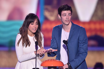 Grant Gustin Nickelodeon's 28th Annual Kids' Choice Awards - Show