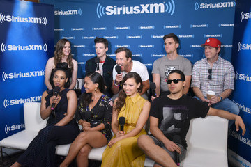 Grant Gustin SiriusXM's Entertainment Weekly Radio Broadcasts Live From Comic Con in San Diego