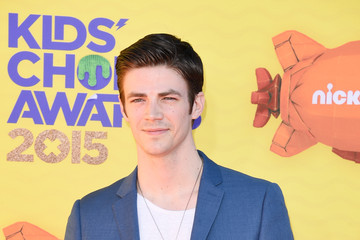 Grant Gustin Nickelodeon's 28th Annual Kids' Choice Awards - Arrivals
