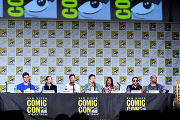 Grant Gustin 2019 Comic-Con International - 'The Flash' Special Video Presentation And Q&A