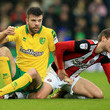 Grant Hanley Norwich City v Sheffield United - Sky Bet Championship