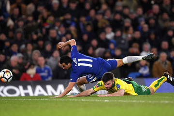 Grant Hanley Chelsea v Norwich City - The Emirates FA Cup Third Round Replay
