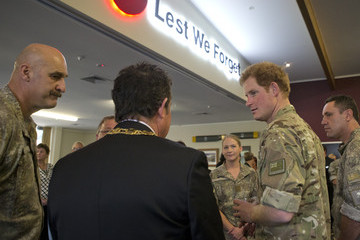 Grant Smith Prince Harry Visits New Zealand - Day 5