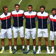 Richard Gasquet and Arnaud Clement Photos