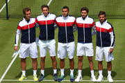 Richard Gasquet and Arnaud Clement Photos Photo