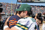Aaron Rodgers and Jay Cutler Photos Photo
